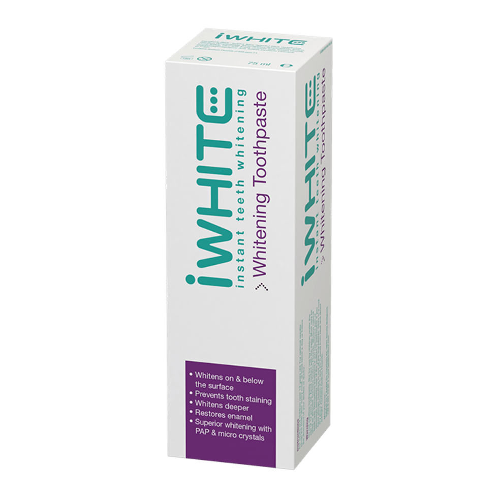 Iwhite Instant Teeth Whitening Iwhite Instant Whitening Toothpaste